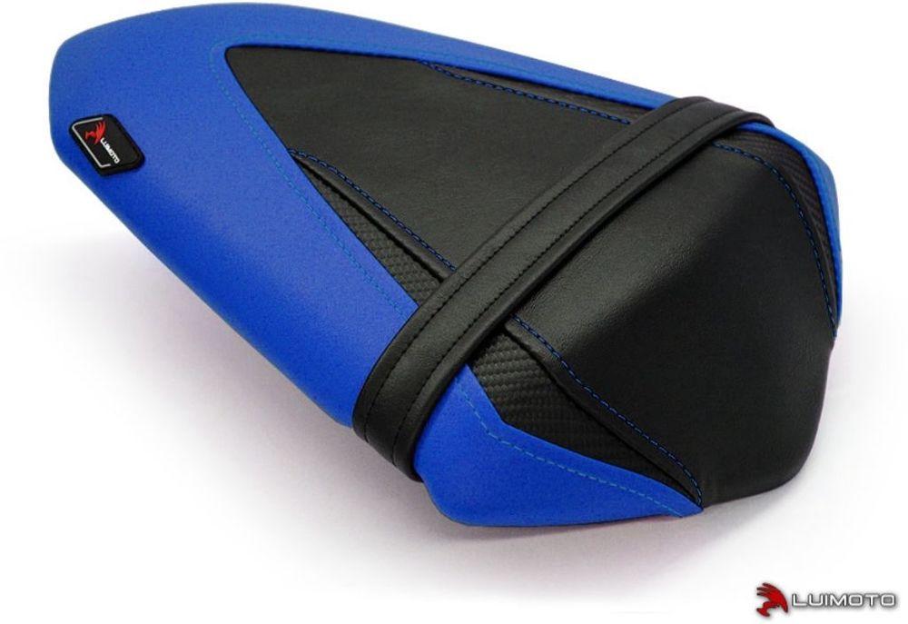 LUIMOTO ルイモト その他シートパーツ リアシートカバー カラー:ブルー/ブラック/CFブラック/ブルーステッチ Ninja250