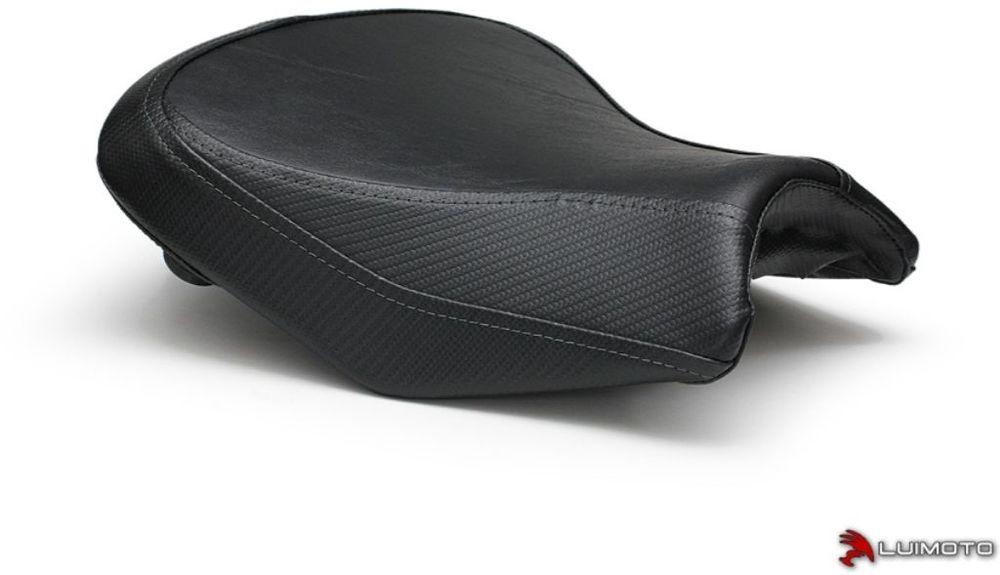LUIMOTO ルイモト その他シートパーツ フロントシートカバー ステッチカラー:ブラック Ninja650