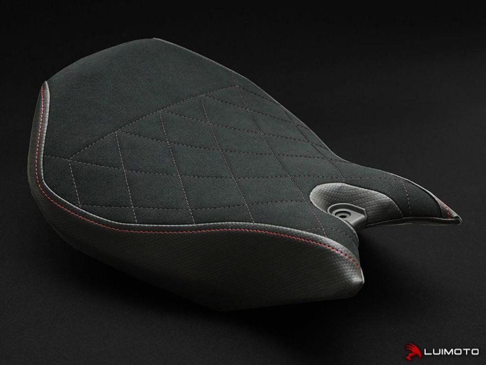 LUIMOTO ルイモト その他シートパーツ フロントシートカバー カラー:ブラックダイヤモンドキルト PANIGALE 1299 PANIGALE 899 PANIGALE 959