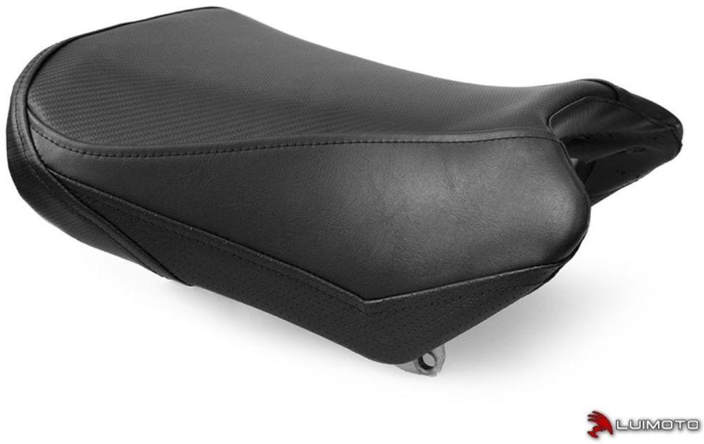 LUIMOTO ルイモト その他シートパーツ フロントシートカバー ステッチカラー:ブラック SV650