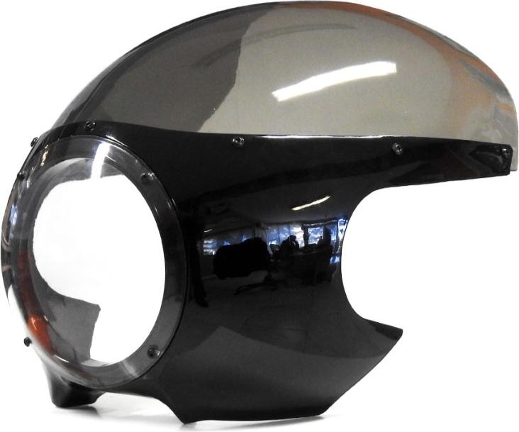 S2 Concept S2コンセプト アッパーカウル ビンテージカフェレーサー トップ/ヘッドライトフェアリング