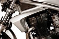 【ポイント5倍開催中!!】S2 Concept S2コンセプト サイドカバー ラジエーターチーク カラー:03 イエロー YU9 BANDIT600