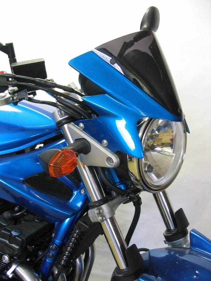 S2 Concept S2コンセプト ビキニカウル・バイザー グラスファイバー ヘッドライトフェアリング カラー:07 ブルー YLE BANDIT1250