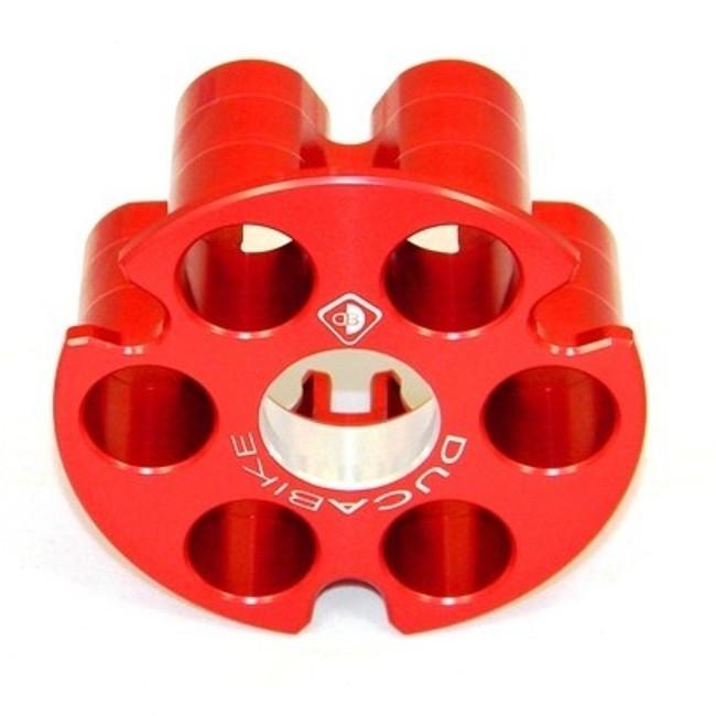 DUCABIKE ドゥカバイク 湿式クラッチ用 プレッシャープレート カラー:レッド
