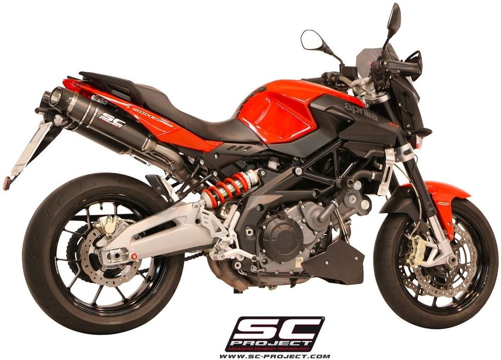 SC-PROJECT SCプロジェクト オーバルスリップオンサイレンサー SHIVER 750 SHIVER GT