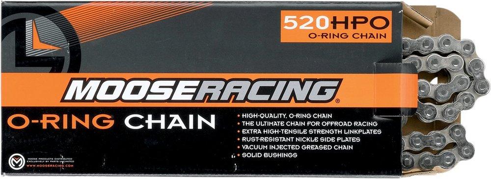 MOOSE RACING ムースレーシング 520 HPO Oリングチェーン【520 HPO O-RING CHAIN [M573-00-90]】
