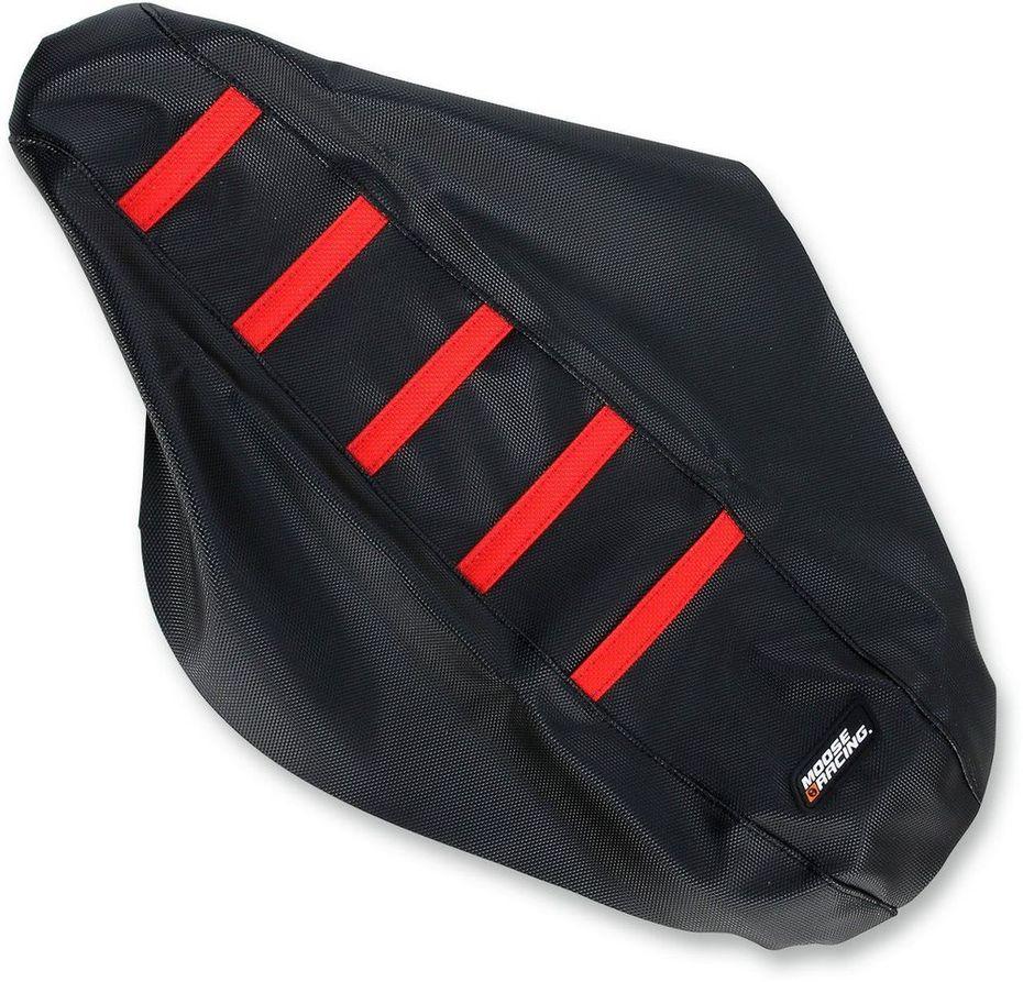 MOOSE RACING ムースレーシング シートカバーリブ付き【RIBBED SEAT COVERS [0821-1786]】 CRF150R 2007 - 2017