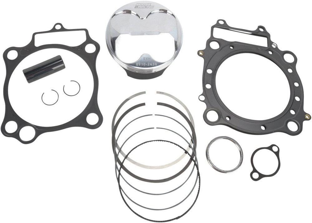 MOOSE RACING ムースレーシング ハイパフォーマンス CP 4-ストロークピストンキット【HIGH PERFORMANCE 4-STROKE PISTON KITS BY CP PISTONS [0910-2438]】 CRF450R 2002 - 2008