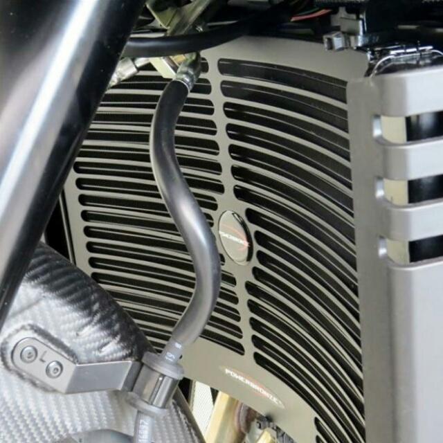 ODAX オダックス コアガード POWERBRONZE ラジエターカバー カラー:ブラック GSX-S1000 GSX-S1000F