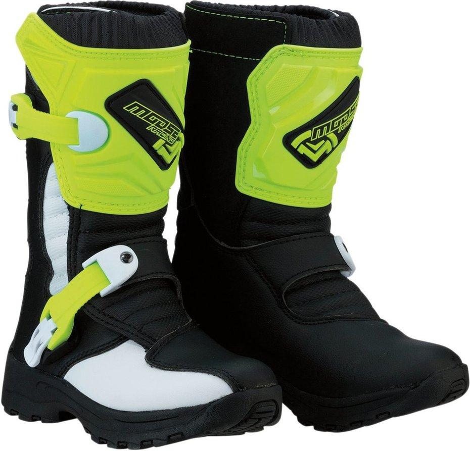 MOOSE RACING ムースレーシング オフロードブーツ ブーツ S18C M1.3 ブラック/HIVZ【BOOT S18C M1.3 BK/HIVZ】【Kids】 サイズ:11 [3411-0474]