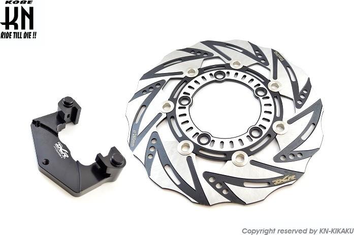 KN企画 ケイエヌキカク DCR ビッグローターキット 【ノーマルキャリパー】 レーシング125 レーシング150