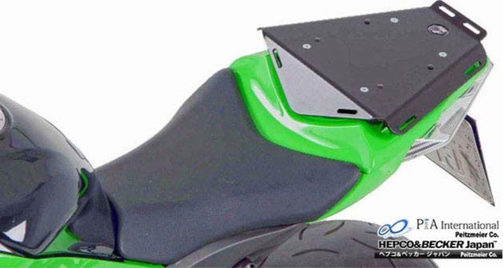 【在庫あり】HEPCO&BECKER ヘプコ&ベッカー タンデムシート置換型リアラック「Speedrack EVO」 ZX-10 R Ninja