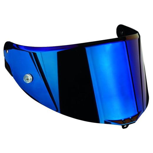 AGV エージーブイ シールド・バイザー レース2 バイザー スクラッチレジスタント(RACE 2 VISOR SCRATCH RESISTANT) カラー:002-イリジウムブルー(IRIDIUM BLUE)