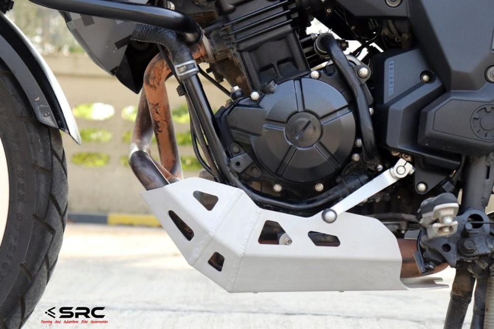 SRC エスアールシー ガード・スライダー スキッドプレート VERSYS-X 300