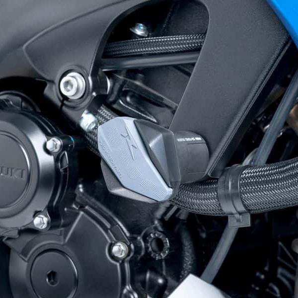 Puig プーチ ガード・スライダー クラッシュパッド R12タイプ カラー:ブラック GSX-S1000 KATANA