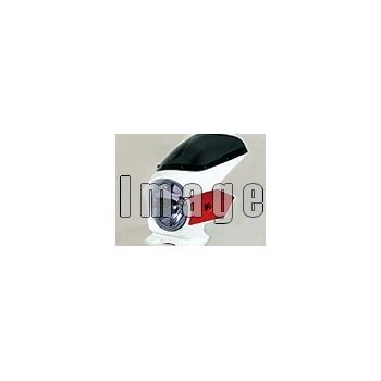 N PROJECT Nプロジェクト エヌプロジェクト ビキニカウル・バイザー ブラスターII スタンダードスクリーン カラー:パールコスミックブラック グラフィック:なし スクリーンカラー:スモーク VTR250