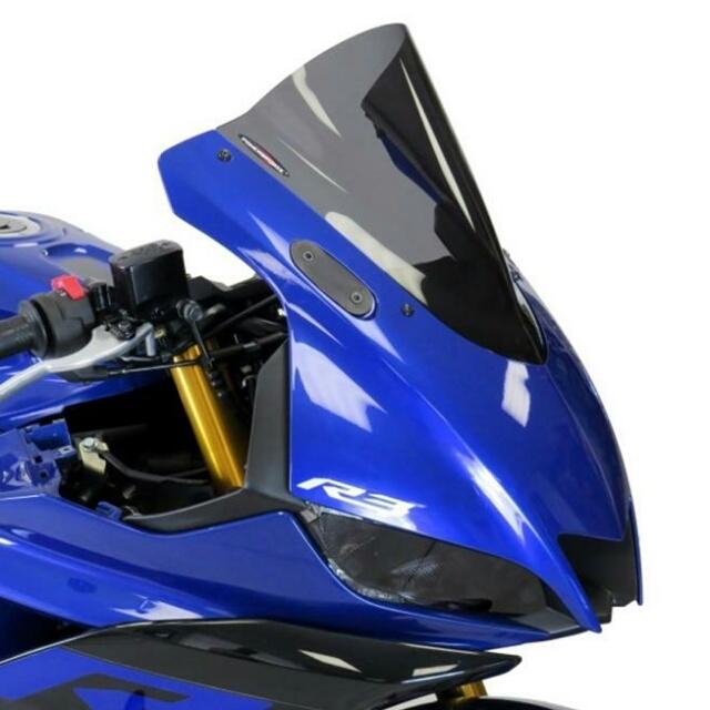 ODAX オダックス POWERBRONZE スポーツ・エアフロースクリーン カラー:ライトスモーク YZF-R25 YZF-R3