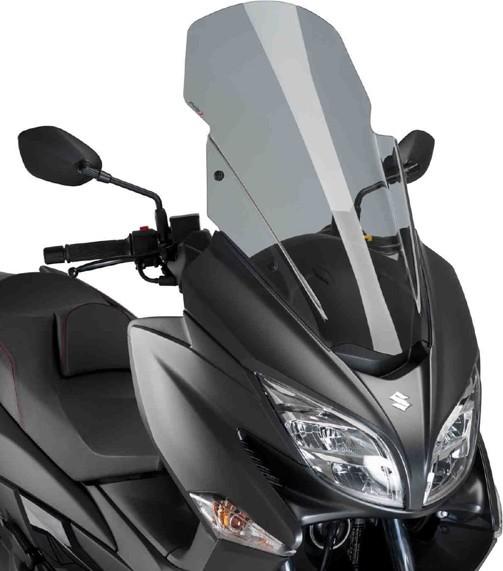 Puig プーチ V-TECH Line ツーリングスクリーン カラー:スモーク BURGMAN400