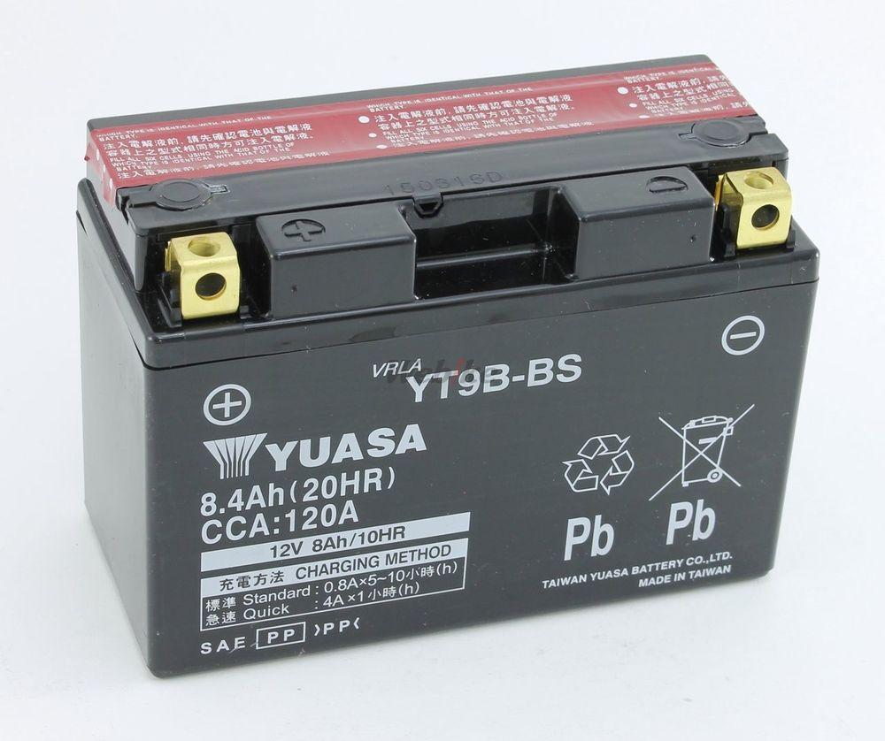 【在庫あり】【イベント開催中!】 台湾ユアサ 台湾YUASA 密閉型メンテナンスフリーバッテリー(MF) YT9B-BS 12V車両 TMAX500 YZF-R6 YZF-R7 マジェスティ250(SG03J)