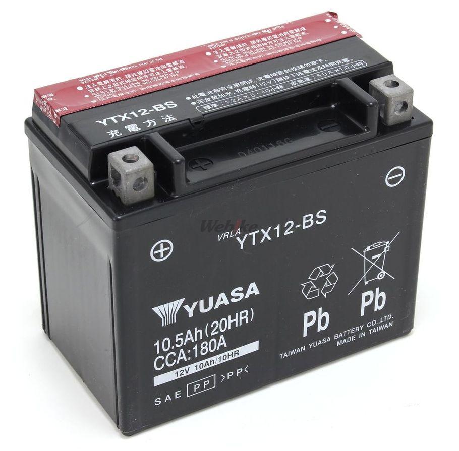 【在庫あり】【イベント開催中!】 台湾ユアサ 台湾YUASA 密閉型メンテナンスフリーバッテリー(MF) YTX12-BS