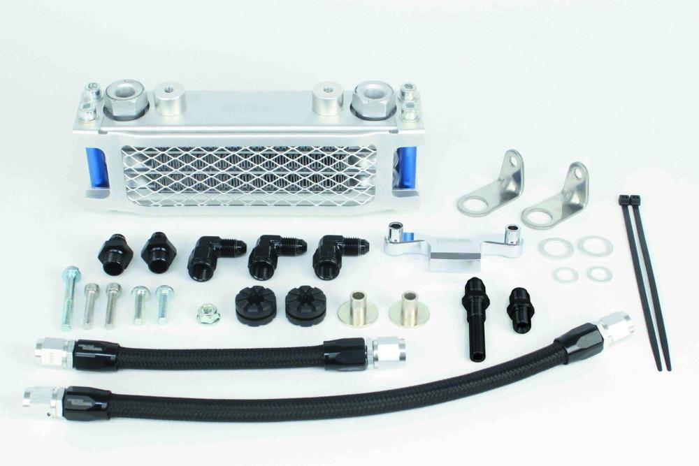 SP武川 SPタケガワ オイルクーラー本体 コンパクトクールキット(ヘッド下/シリンダー) タイプ:3フィン4オイルライン GROM MSX125 MSX125SF モンキー125