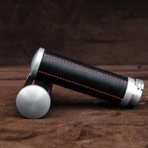 【ポイント5倍開催中!!】【クーポンが使える!】 Ends Cuoio エンズ クオイオ アルミニウムハンドルグリップ カラー:ブラック/レッドステッチ
