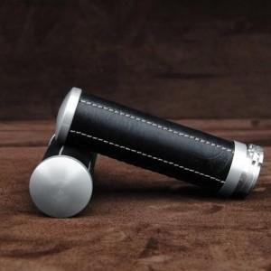 【ポイント5倍開催中!!】【クーポンが使える!】 Ends Cuoio エンズ クオイオ アルミニウムハンドルグリップ カラー:ブラック/ホワイトステッチ