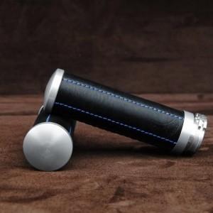 【ポイント5倍開催中!!】【クーポンが使える!】 Ends Cuoio エンズ クオイオ アルミニウムハンドルグリップ カラー:ブラック/ブルーステッチ