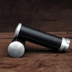【ポイント5倍開催中!!】【クーポンが使える!】 Ends Cuoio エンズ クオイオ アルミニウムハンドルグリップ カラー:ブラック/グリーンステッチ