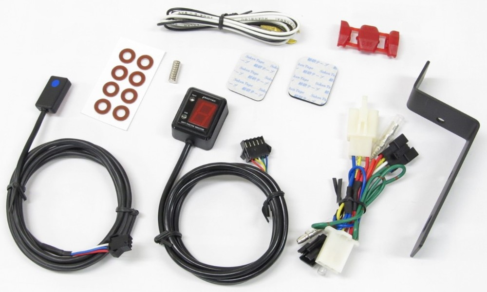 PROTECプロテック 入手困難 インジケーター SPI-K34 シフトポジションインジケーター専用キット PROTEC プロテック ZRX1100 低廉