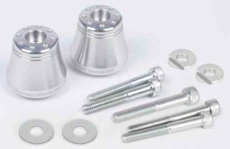 SP武川 SPタケガワ アクセサリーバーエンド タイプ:アルミ製/シルバーアルマイト