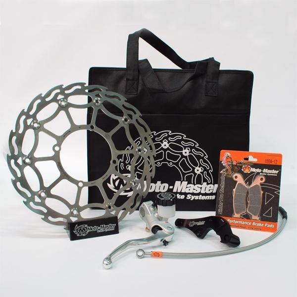 MOTOMASTER モトマスター スーパーモト 320mm ストリート コンプリート強化キット ヘッドライト非装着車用 CRF250R CRF450R CRF450RWE CRF450RX