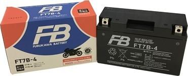 古河バッテリー FB FT7B-4 12V高始動形制御弁式 (シール形MF) バッテリー (FTシリーズ)