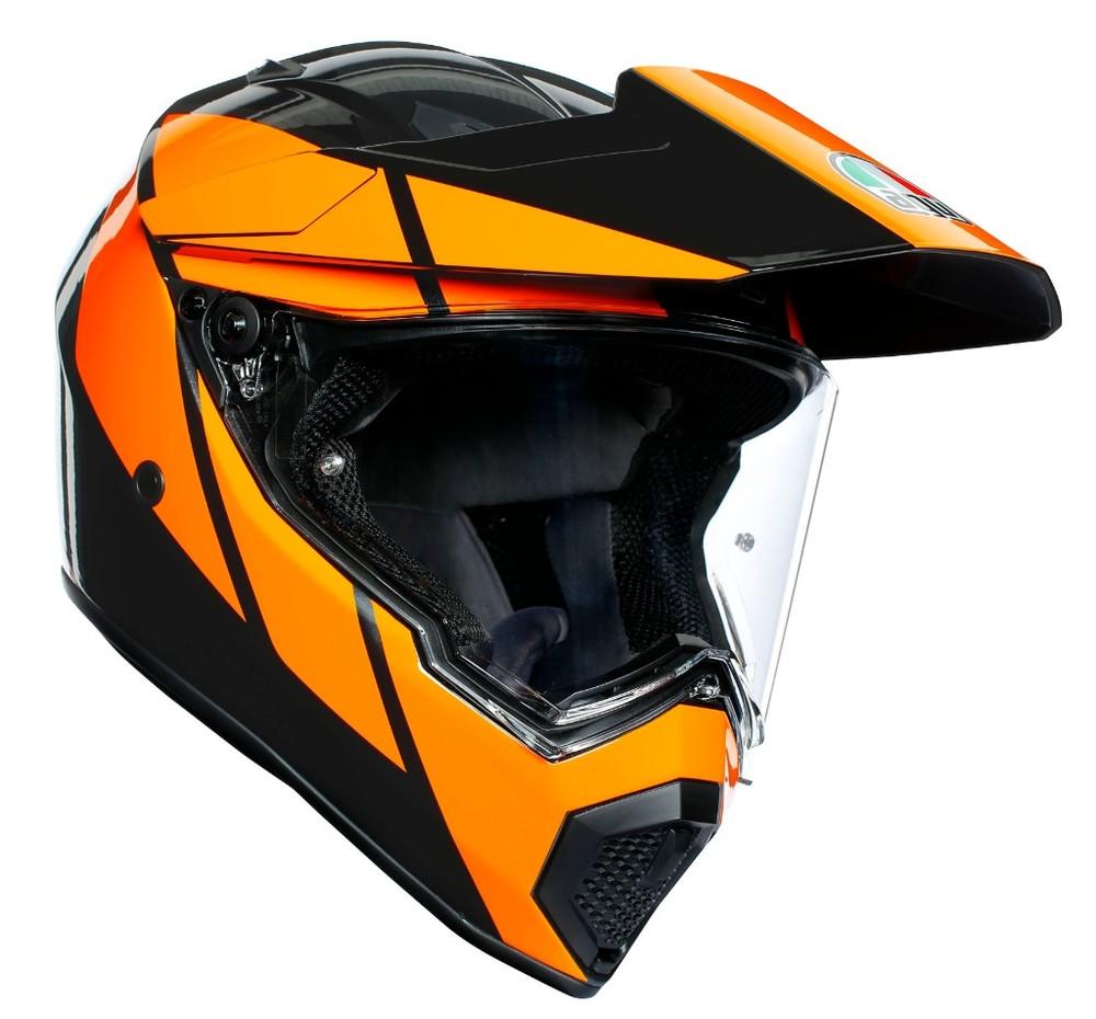 AGV エージーブイ オフロードヘルメット AX-9 デュアルパーパスヘルメット サイズ:MS(55-56cm)