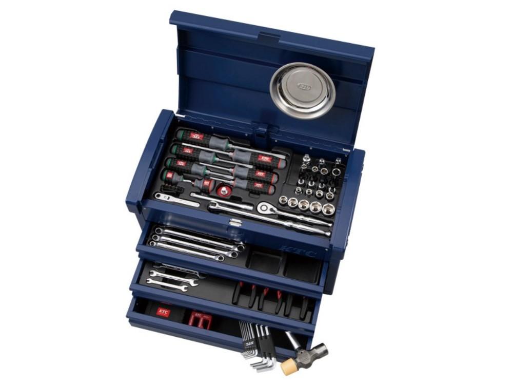KTC ケイティーシー セット工具 【2020年 SKセール対象商品】EKR-103セット カラー:シーベッドブルー