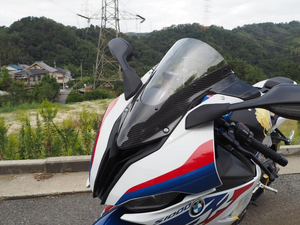 Magical Racing マジカルレーシング カーボントリムスクリーン S1000RR