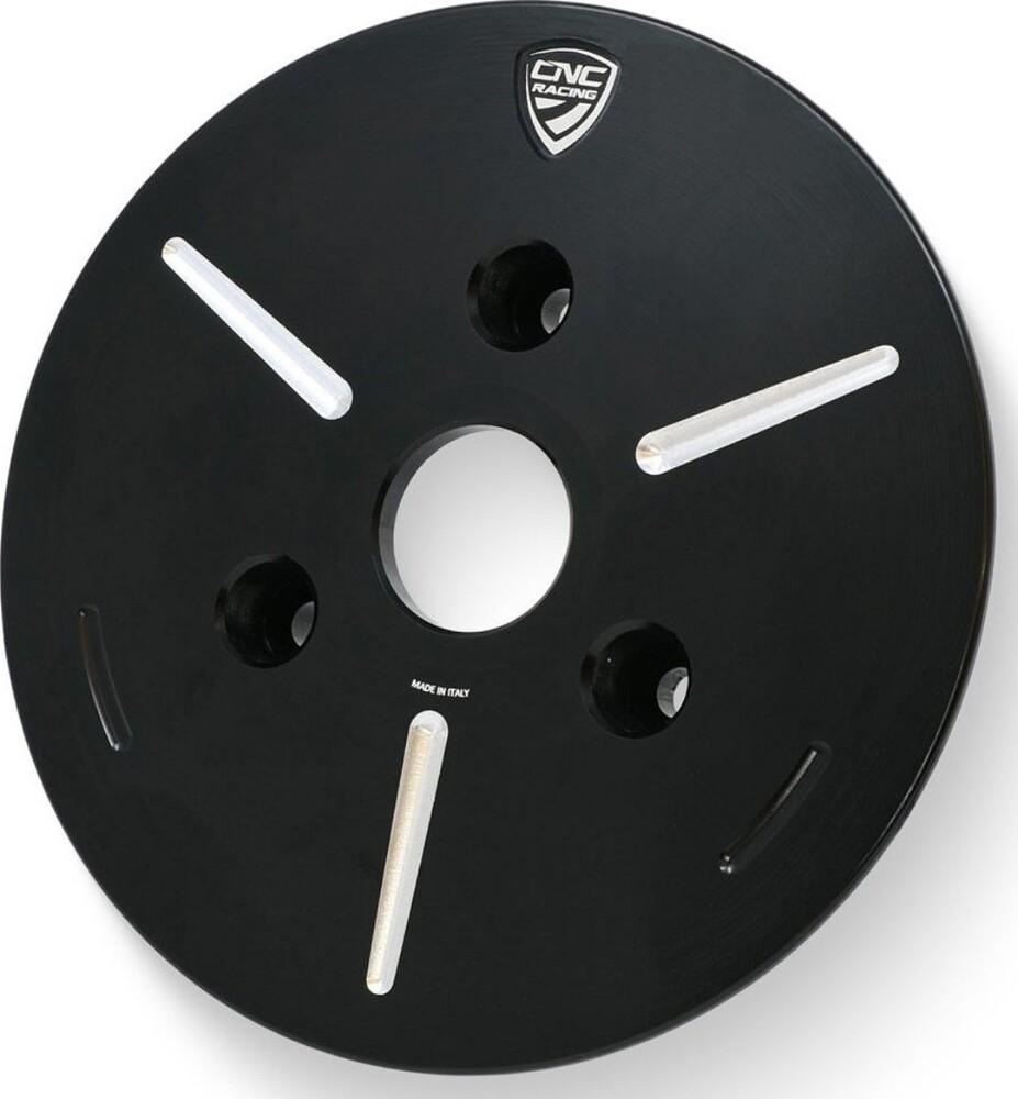CNC Racing CNCレーシング エンジンカバー Pressure plate cover oil bath clutch カラー:ブラック