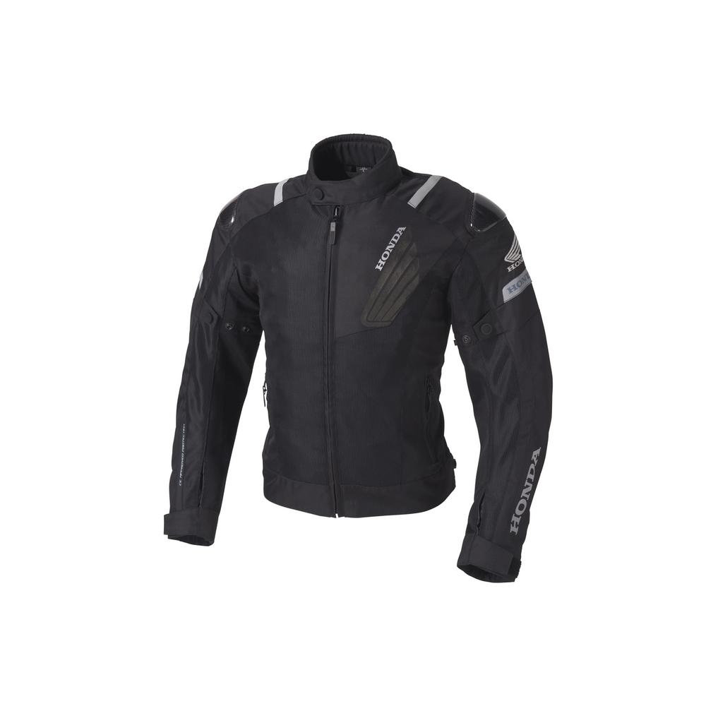 HONDA RIDING GEAR ホンダ ライディングギア カーボンプロテクトメッシュジャケット サイズ:M
