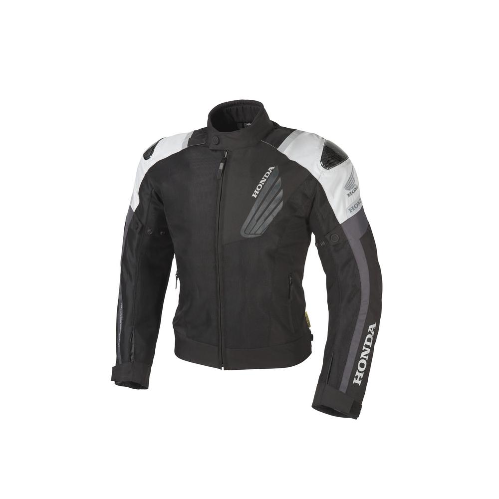 HONDA RIDING GEAR ホンダ ライディングギア カーボンプロテクトメッシュジャケット サイズ:S