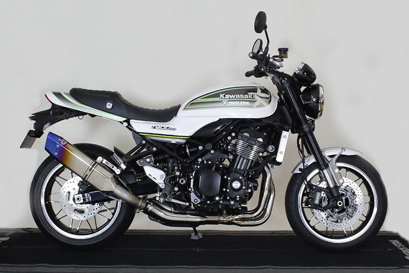 TRICK STAR トリックスター スリップオンマフラー IKAZUCHI (イカヅチ) 政府認証 Z900RS Z900RS