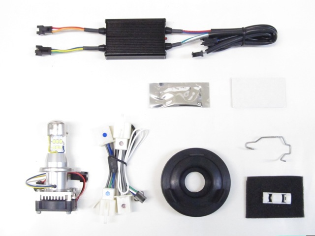 PROTEC プロテック LHL-H28 LEDマルチリフレクターヘッドライトライトレスキット 3000k CB1300SF