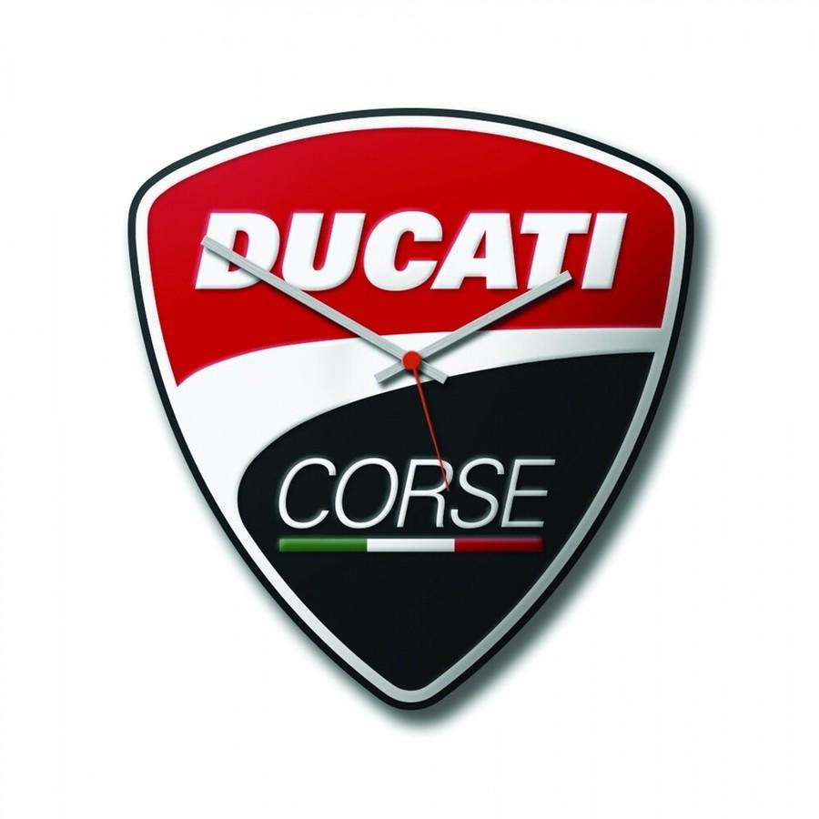 DUCATI Performance ドゥカティパフォーマンス 壁時計 パワー ドゥカティコルセ