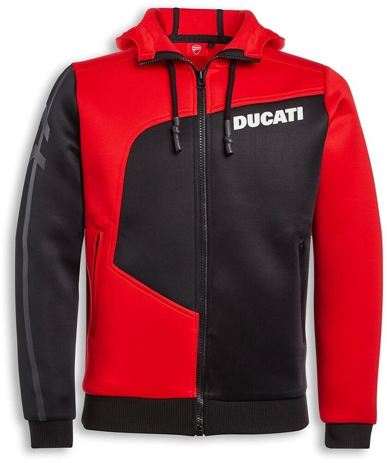 DUCATI Performance ドゥカティパフォーマンス アドベンチャーフード付きサーマルスウェットシャツ