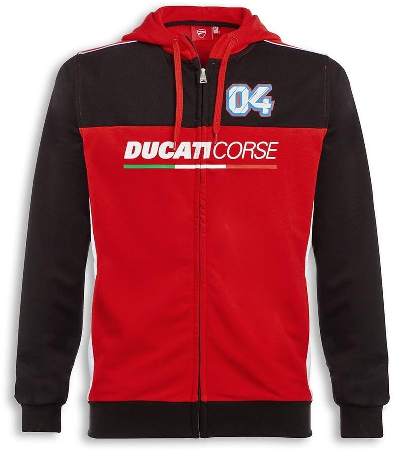 DUCATI Performance ドゥカティパフォーマンス D04 フード付き スウェットシャツ