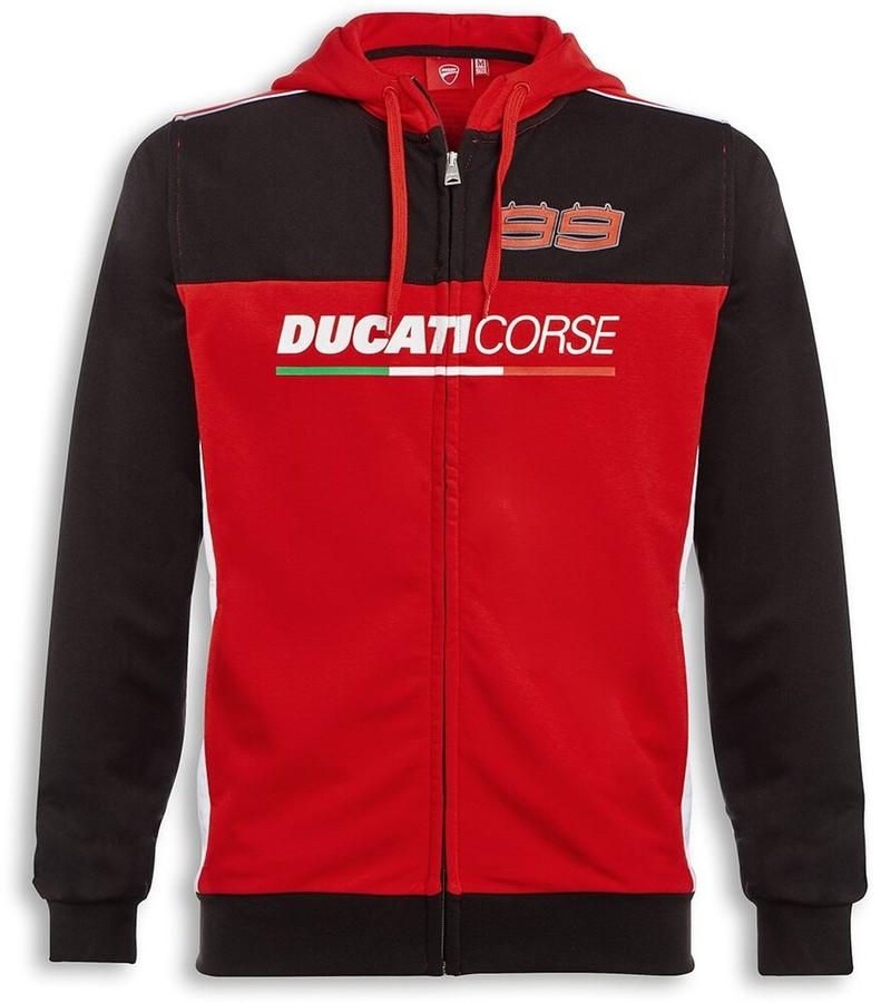 DUCATI Performance ドゥカティパフォーマンス カジュアルウェア D99 フード付き スウェットシャツ サイズ:M