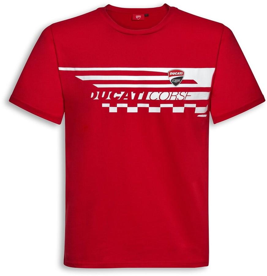 DUCATI Performance ドゥカティパフォーマンス Red Check Tシャツ Size:XXXL