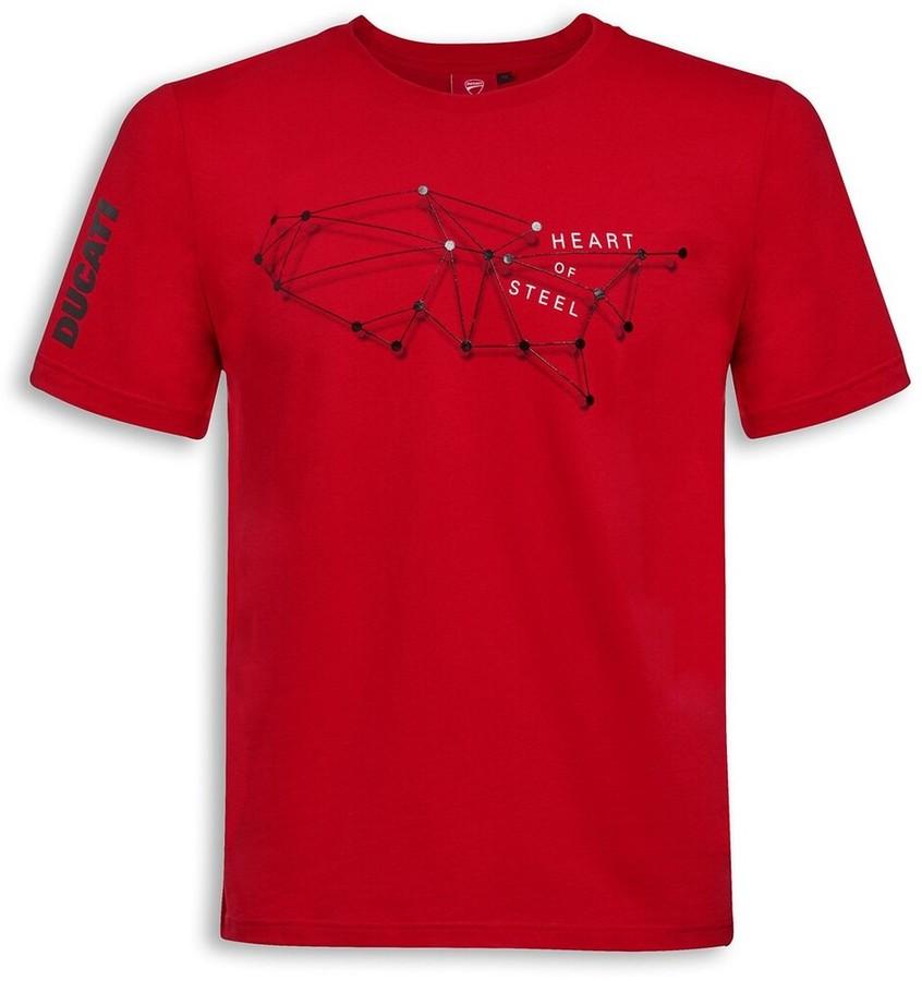 DUCATI Performance ドゥカティパフォーマンス Steel Heart Tシャツ Size:XS