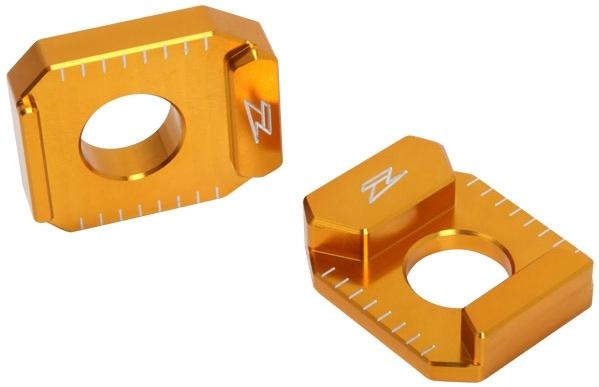 ZETA ジータ スイングアーム リヤアクスルブロック カラー:ゴールド GSX-R600 GSX-R750