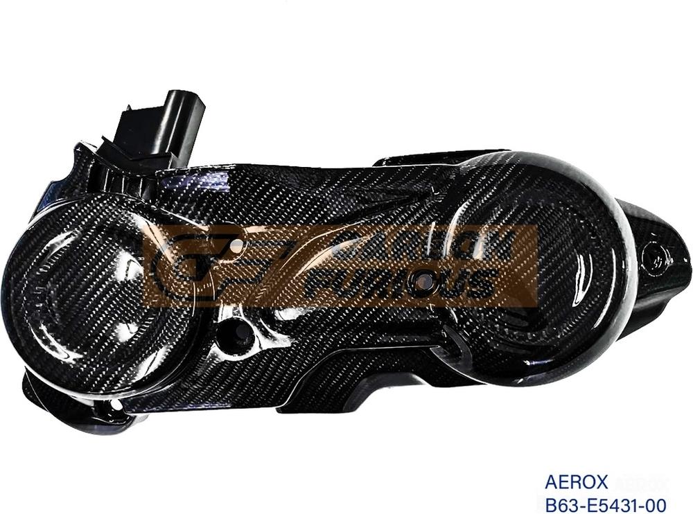 Carbon Furious カーボンフューリアス クランクケースカバー AEROX 155