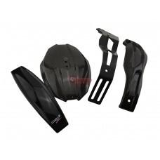 ZEEDPARTS ゼッドパーツ MotoZaaa リアフェンダースプラッシュマッドガード CB650R CBR650R